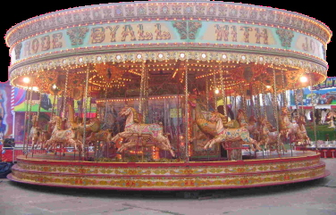 A range of Victorian carousel available throughout Cambridgeshire