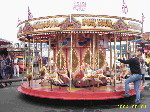 Mini Victorian Carousel for hire throughout the lIncolnshire area